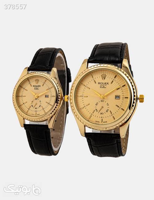 ست ساعت مچی Rolex مدل 12106 زرد ساعت