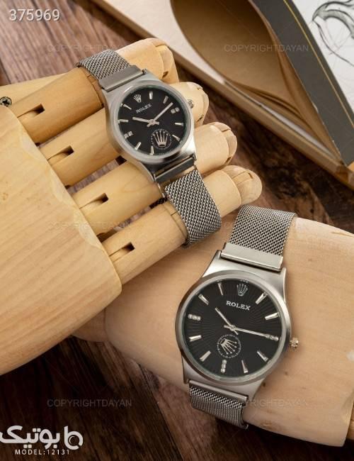 ست ساعت مچی Rolex مدل 12131 مشکی ساعت