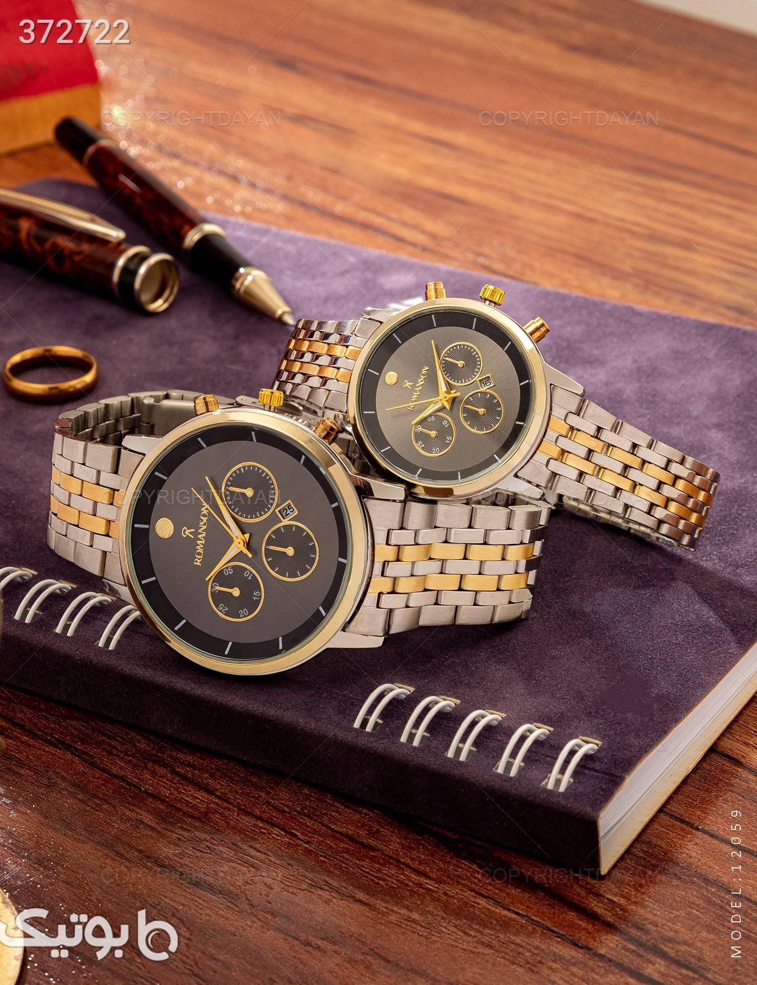 ست ساعت مچی Romanson مدل 12059 مشکی ساعت