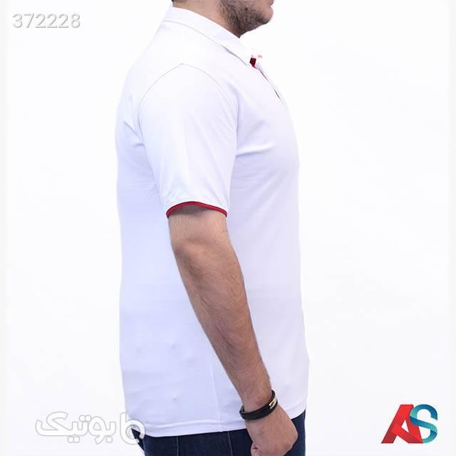 تیشرت سایز بزرگ کد محصول TF951 سفید سایز بزرگ مردانه