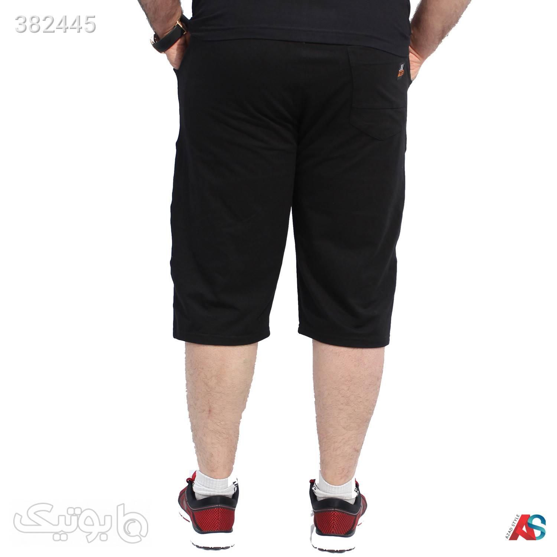 شلوارک سایزبزرگ کدمحصول SP3 مشکی سایز بزرگ مردانه