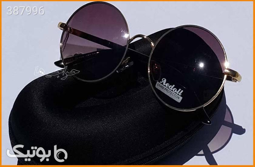 عینک آفتابی شیشه گرد - Aedoll مشکی عینک آفتابی