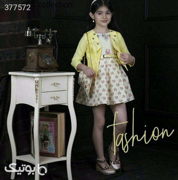 سارافون دخترانه صورتی لباس کودک دخترانه