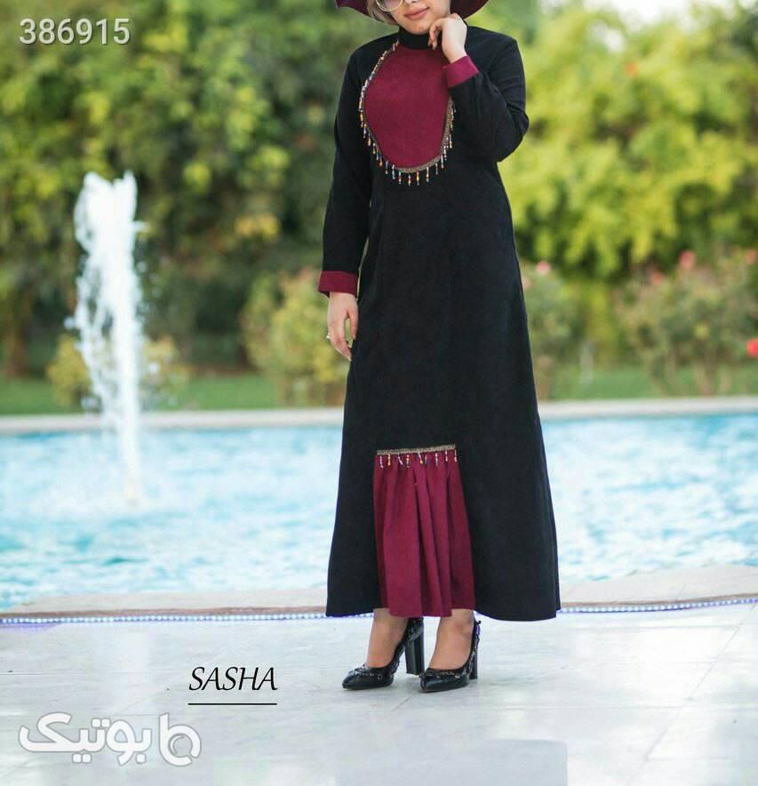 کالکشن پاییزه زمستانه نام طرح : مانا مشکی لباس  مجلسی