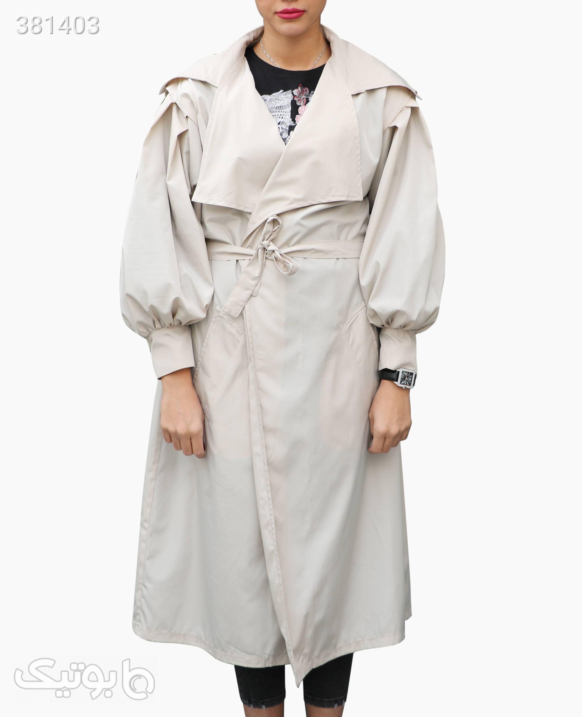 بارانی زنانه Massimo Dutti کد 4342 سبز کاپشن و بارانی زنانه