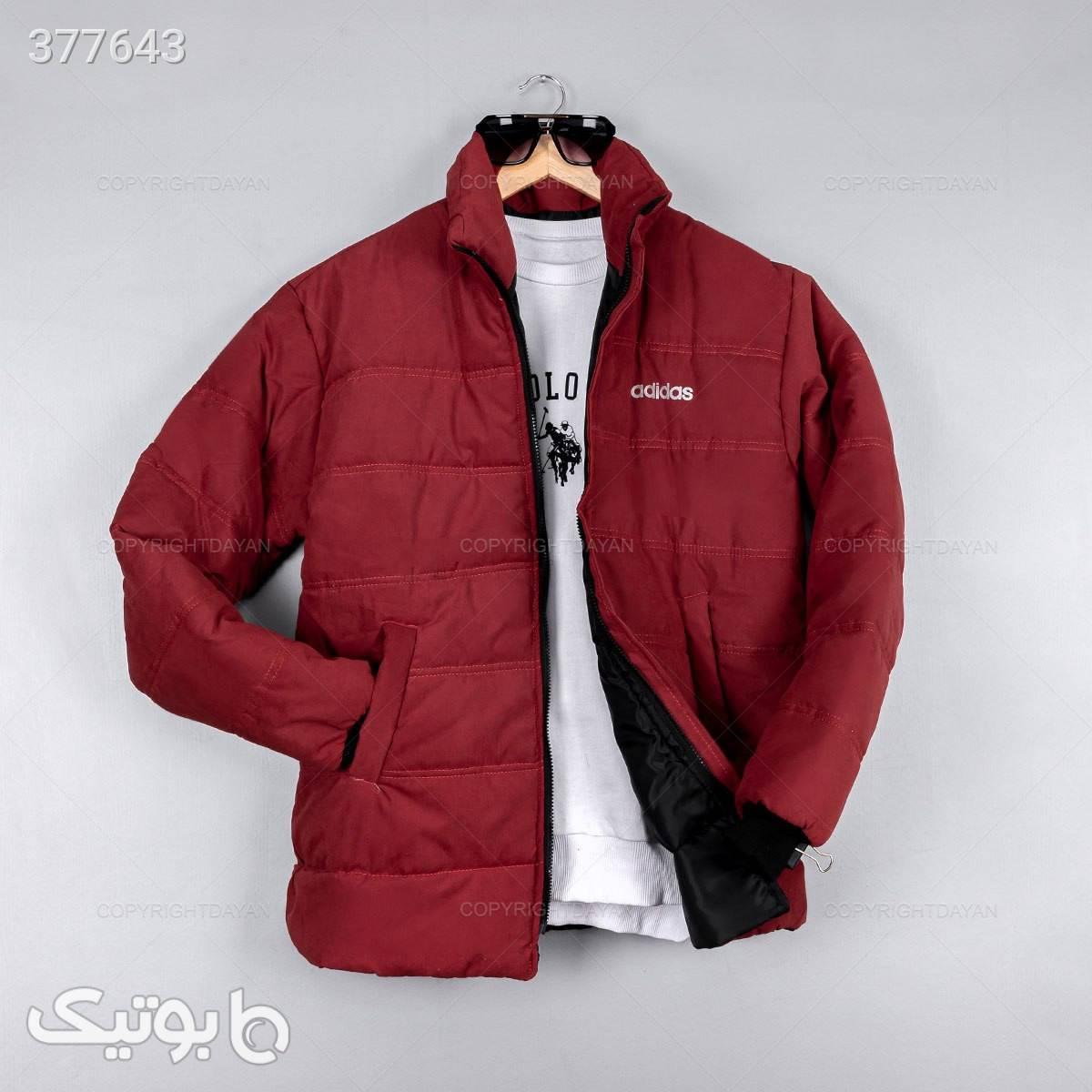 کاپشن مردانه Adidas مدل 11714 مشکی کاپشن و بارانی مردانه