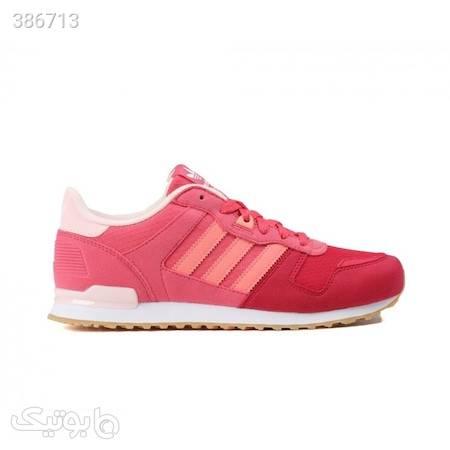 فروش انلاین کفش اسپرت زنانه کد S76242 از ترکیه صورتی كتانی زنانه