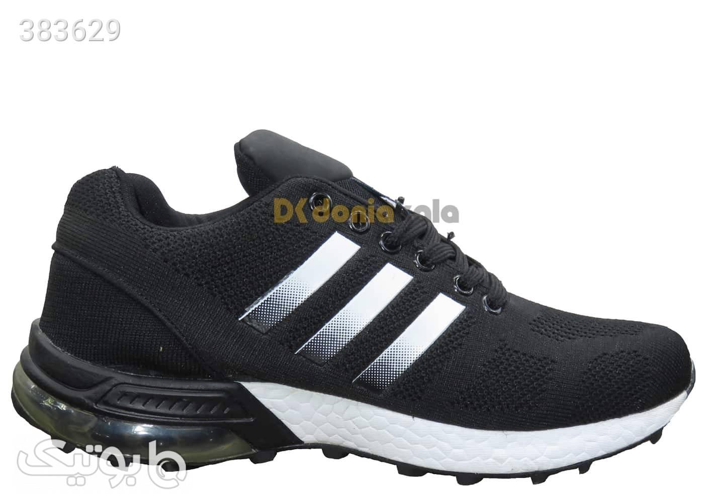 کتونی اسپرت مردانه مخصوص پیاده روی آدیداس طرح فاشیون Adidas FashionAir مشکی كتانی مردانه