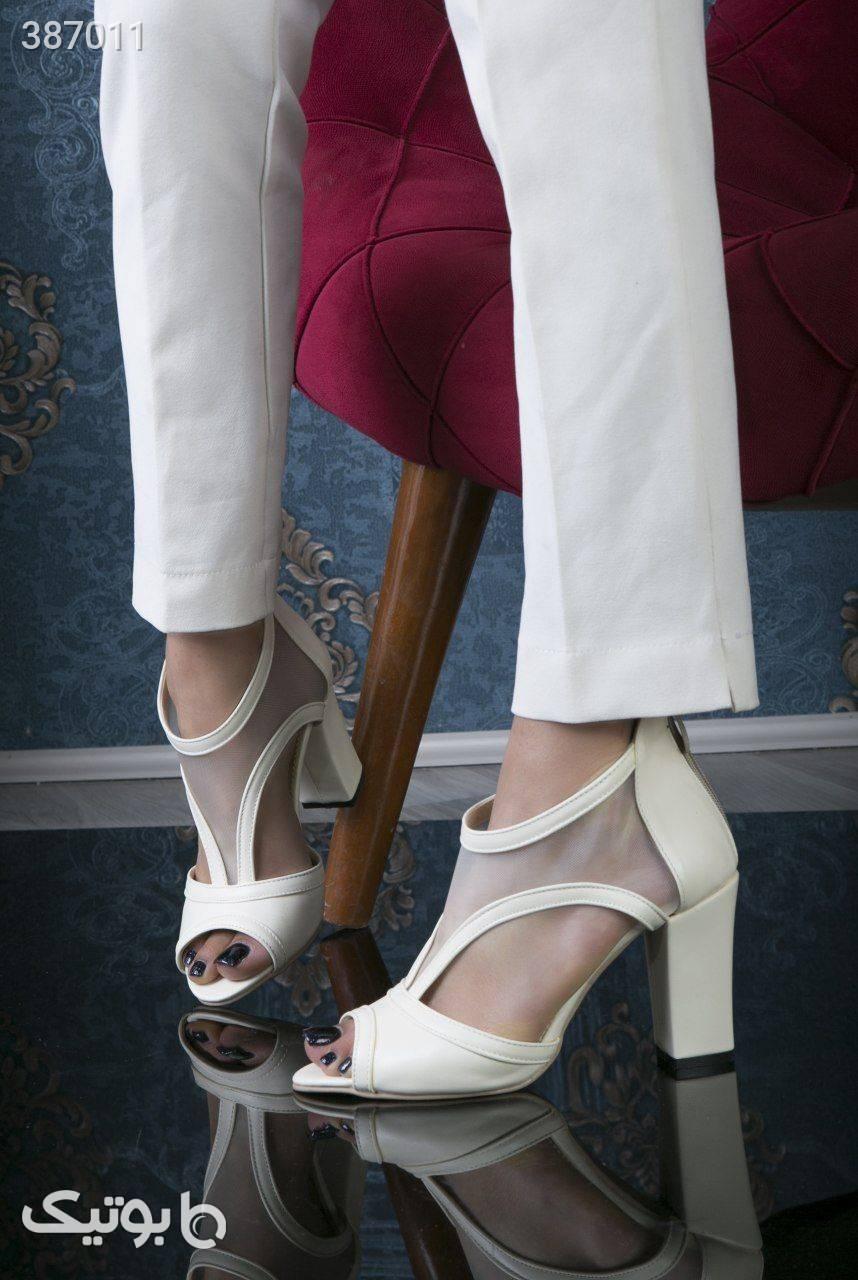 کفش مجلسی توری  مشکی كفش زنانه
