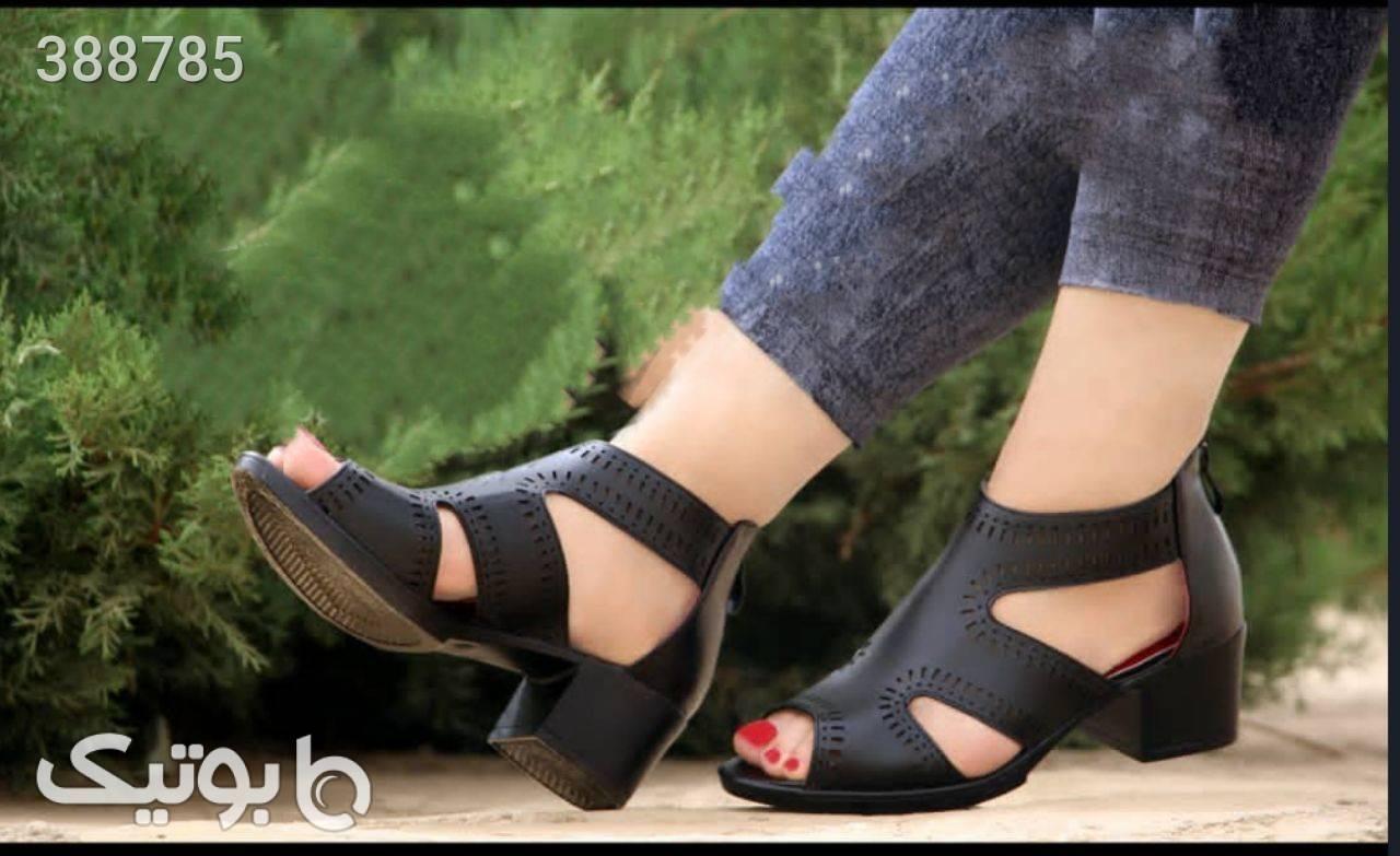 کفش کد۱۲۴ پرفروش طبی خوش پا و راحت  مشکی كفش زنانه