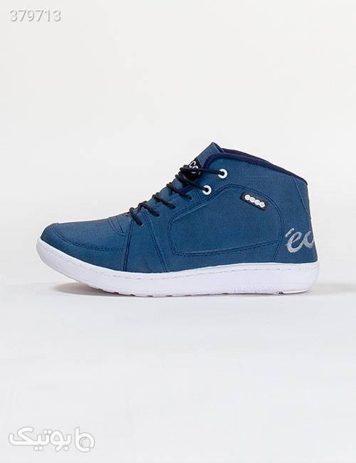 کفش ساقدار مردانه Ecco مدل 11282 آبی كتانی مردانه