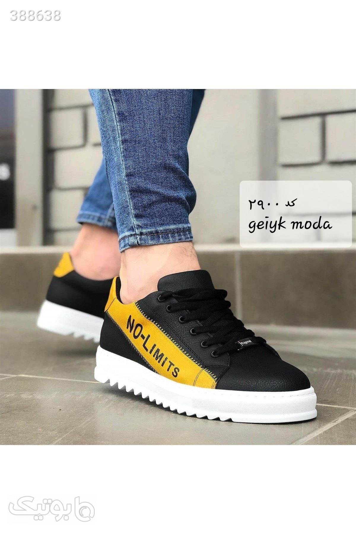 کفش شیک ترک مشکی كفش مردانه