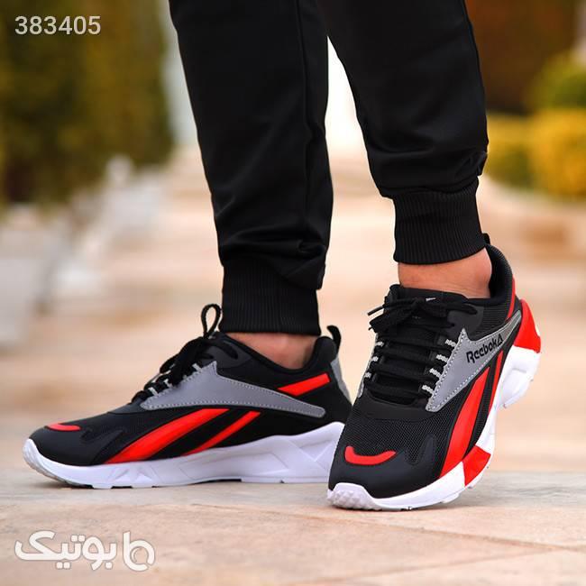 کفش مردانه reebok مدل hanz (قرمز) مشکی كفش مردانه