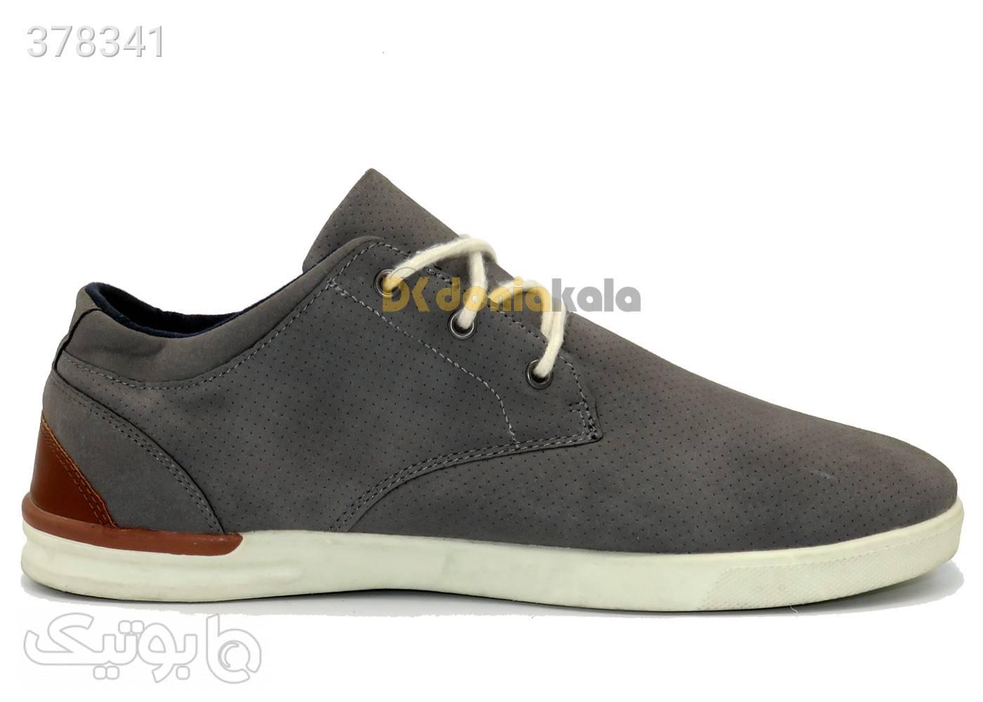 کفش  مجلسی مردانه لیورجی Livergy IAN296923B طوسی كفش مردانه