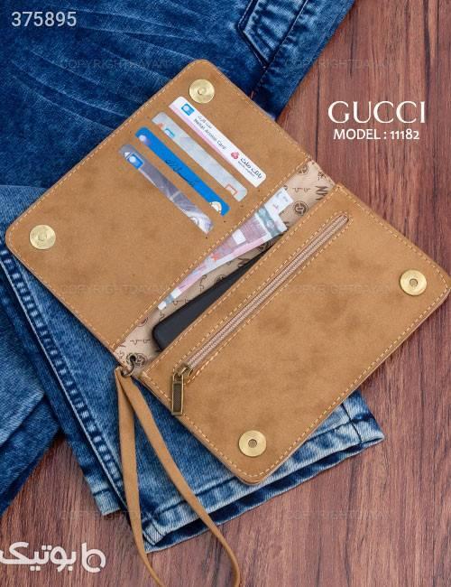 کیف زنانه Gucci مدل 11182 کرم كيف زنانه