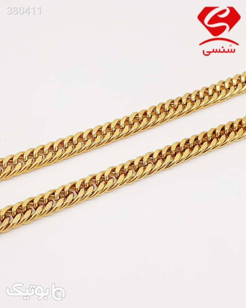 زنجیر استیل اسپرت سفید گردنبند