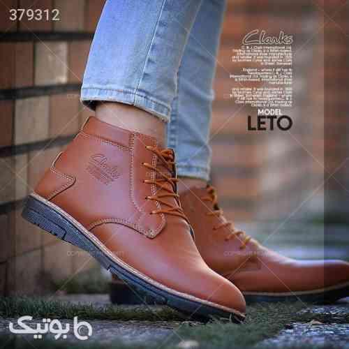 كفش ساقدار مردانه مدل LETO قهوه ای 98 2020