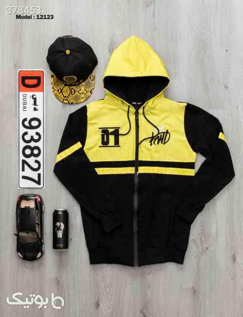 سویشرت مردانه Denver  مدل 12123 زرد 98 2020