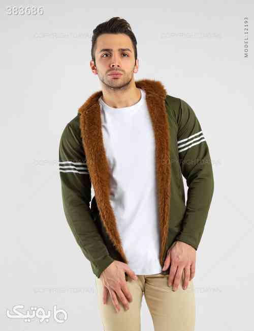 شنل خزدار مردانه Araz مدل 12193 سبز 98 2020