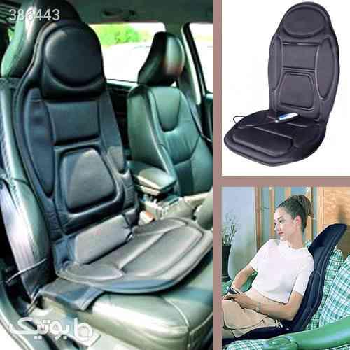 ماساژور صندلی 5 موتوره ویبره حرارتی مشکی 98 2020