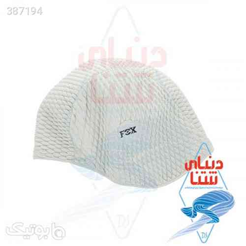 کلاه شنا فاکس مدل پفکی سفید 98 2020