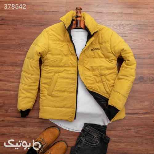 کاپشن مردانه Adidas مدل 12017 زرد 98 2020