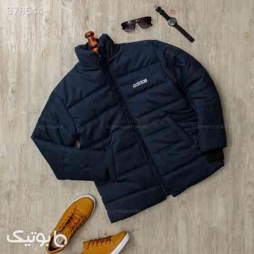 کاپشن مردانه Adidas مدل 12032 سورمه ای 98 2020