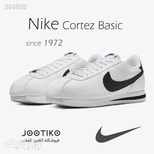 کتانی نایک کورتز Nike Cortez Basic مشکی 98 2020