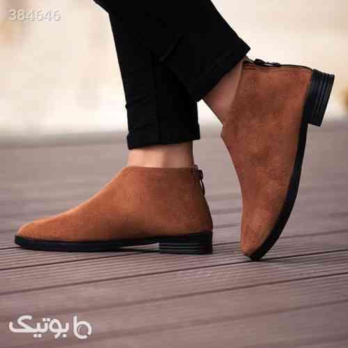 کفش دخترانه مدل Masil قهوه ای 98 2020