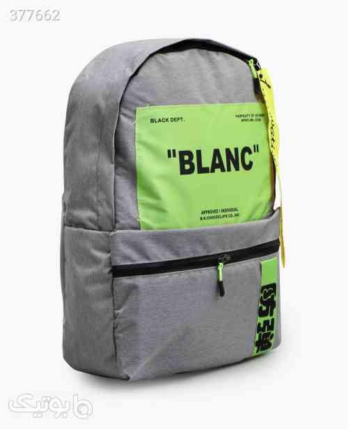 کوله پشتی BLANC کد 7792 نقره ای 98 2020