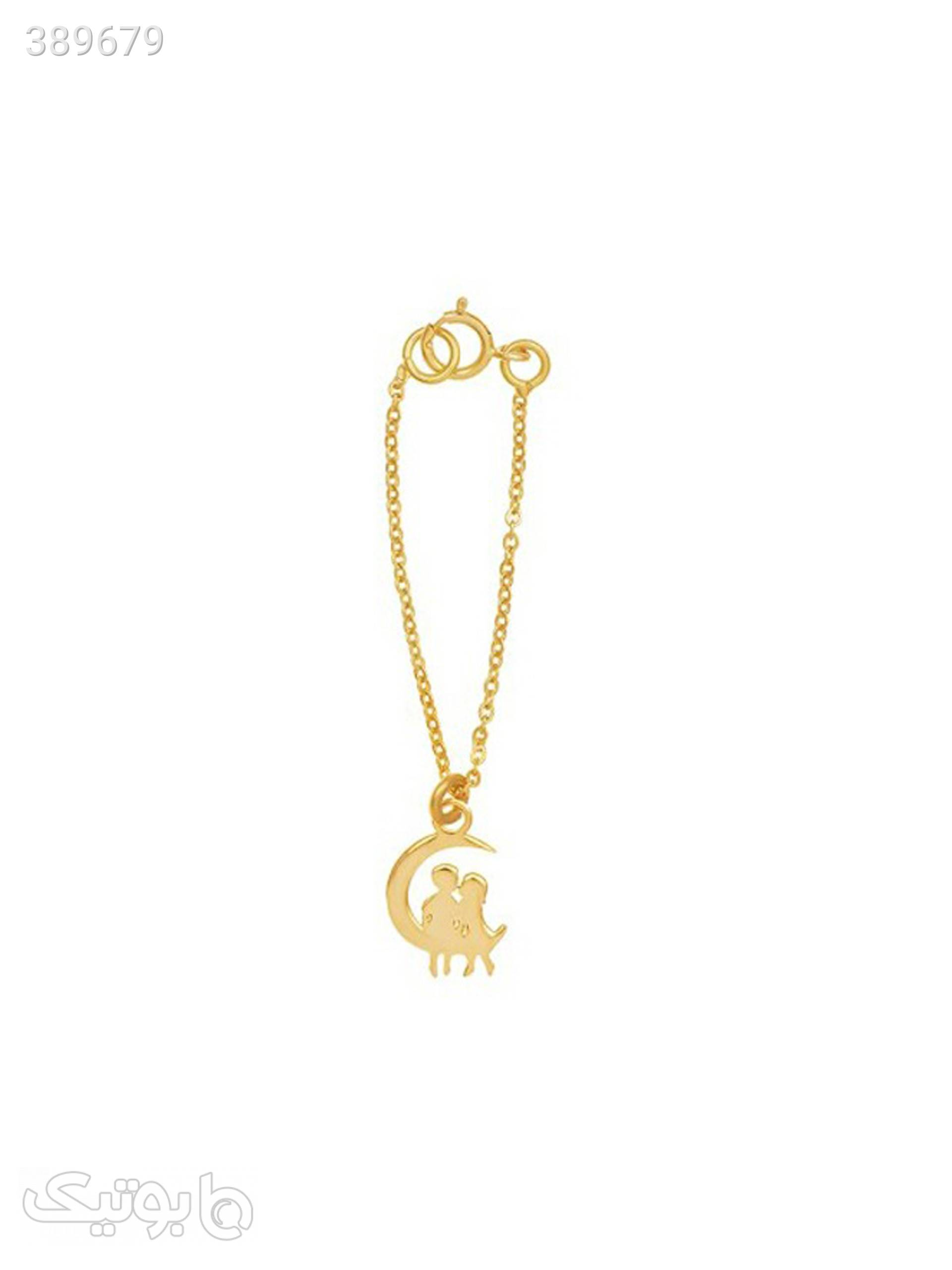 آویز ساعت طلا 18 عیار مدل WTC97  طلایی آویز ساعت