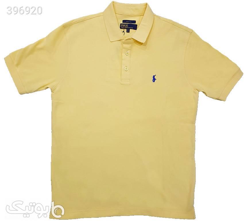 تیشرت جودون زرد تی شرتو پولو شرت مردانه