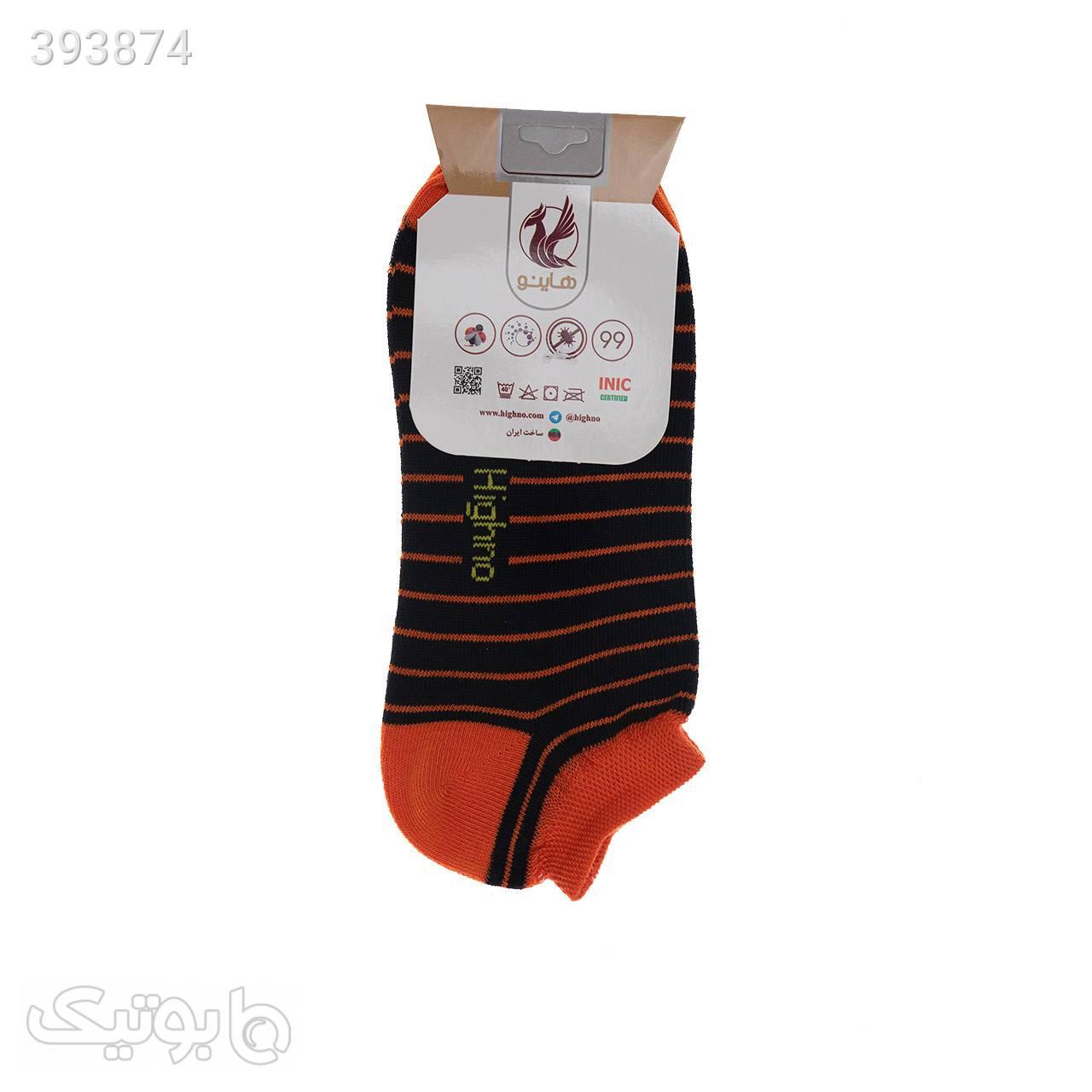 جوراب آنتی باکتریال زنانه مدل 0609-1240 مشکی جوراب و پاپوش