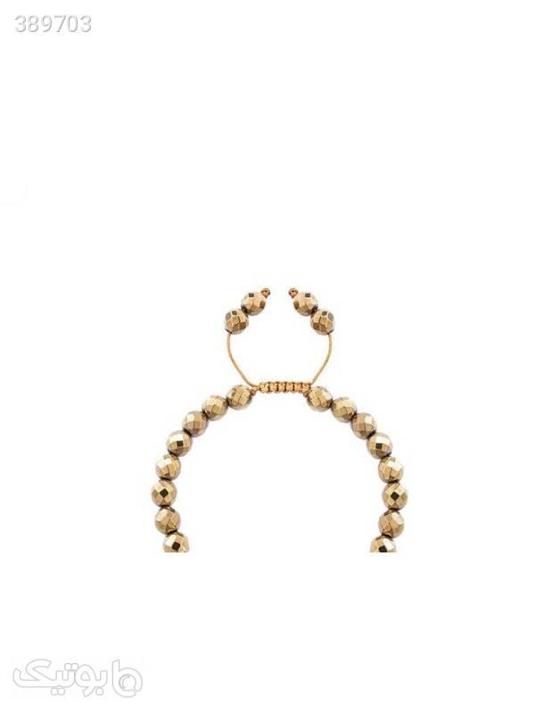دستبند طلا 18 عیار مدل 0747  سبز دستبند و پابند