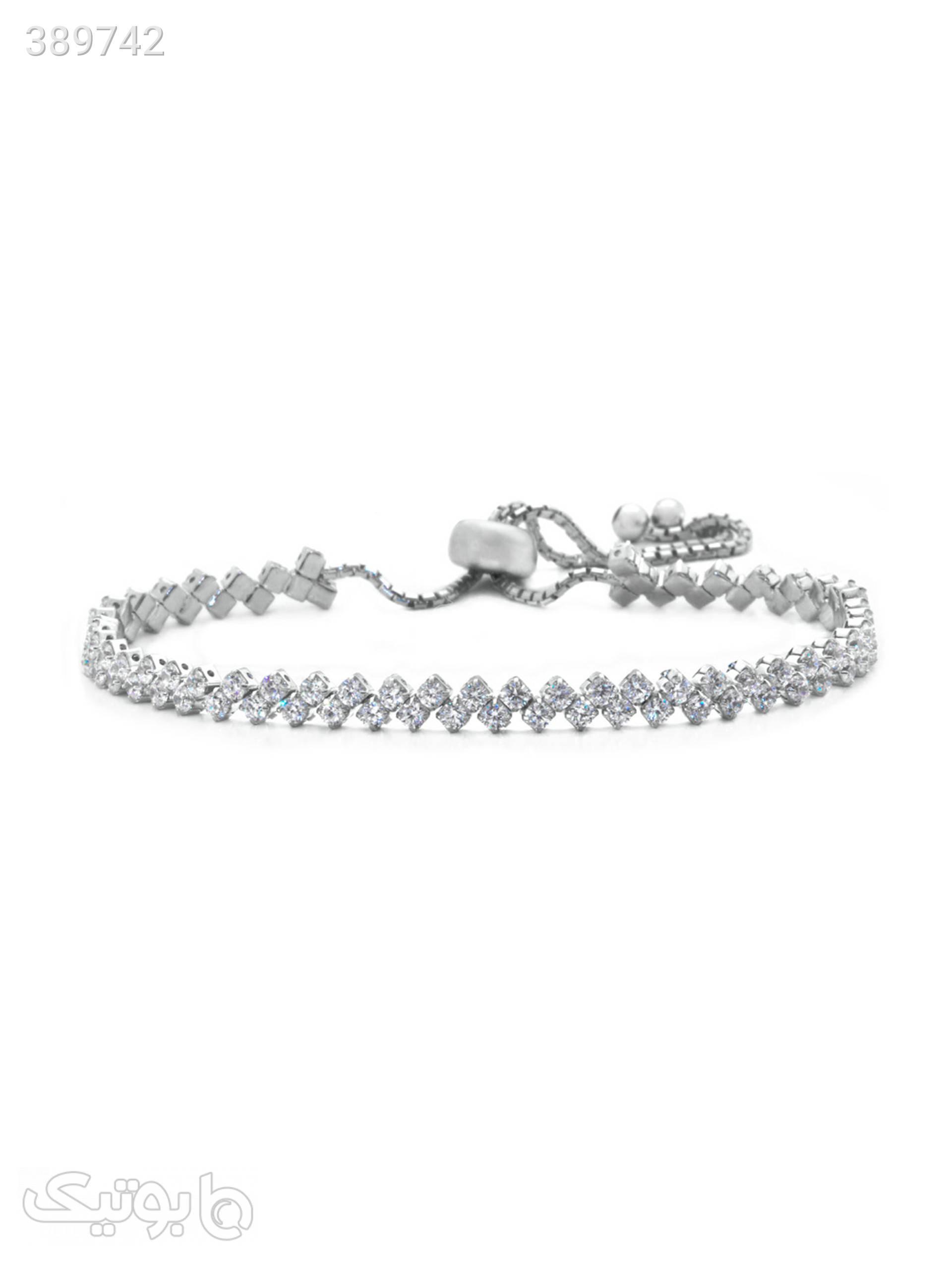 دستبند نقره اقلیمه کد DN97 نقره ای دستبند و پابند