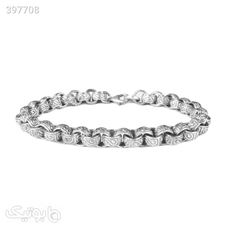 دستبند نقره سیاه قلم   HN53  نقره ای دستبند و پابند