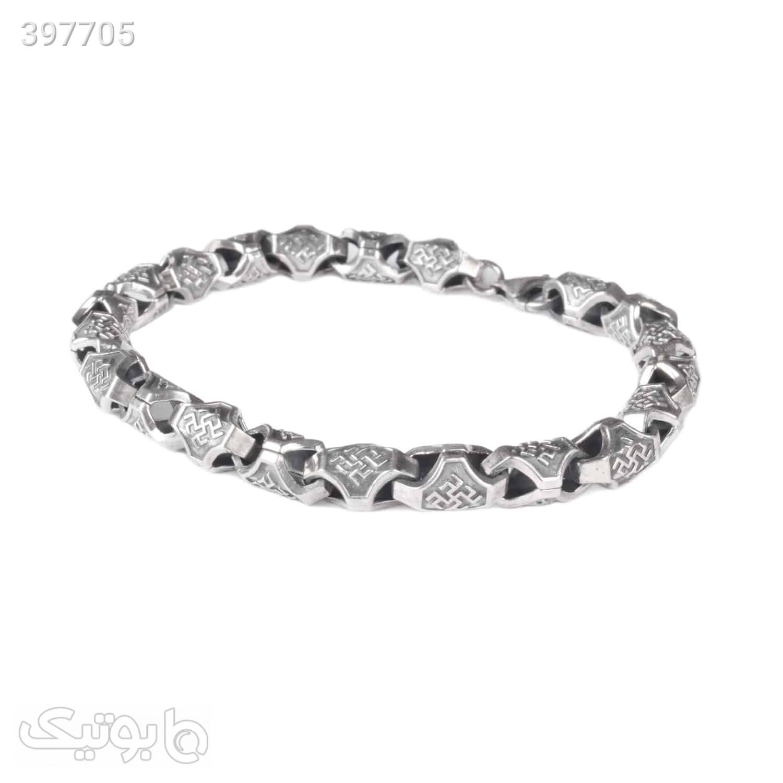 دستبند نقره سیاه قلم   HN56  نقره ای دستبند و پابند