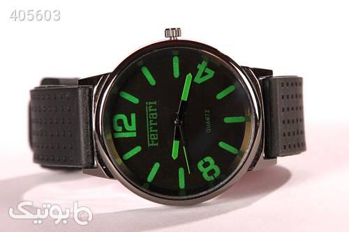 ساعت اسپرت طرح Ferrari مدل 910 سبز ساعت