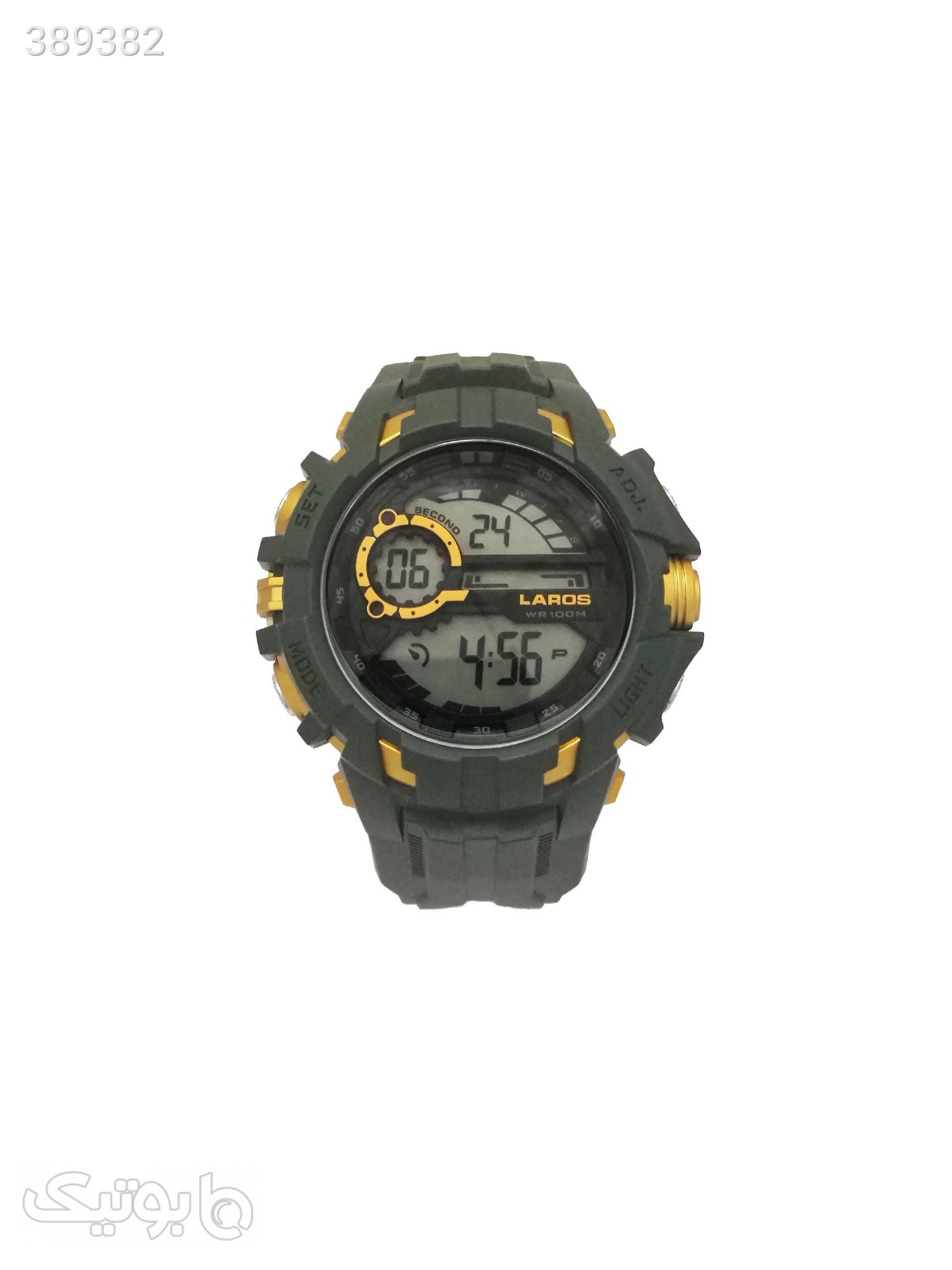 ساعت مچی دیجیتالی لاروس مدل0817-m1073 طوسی ساعت