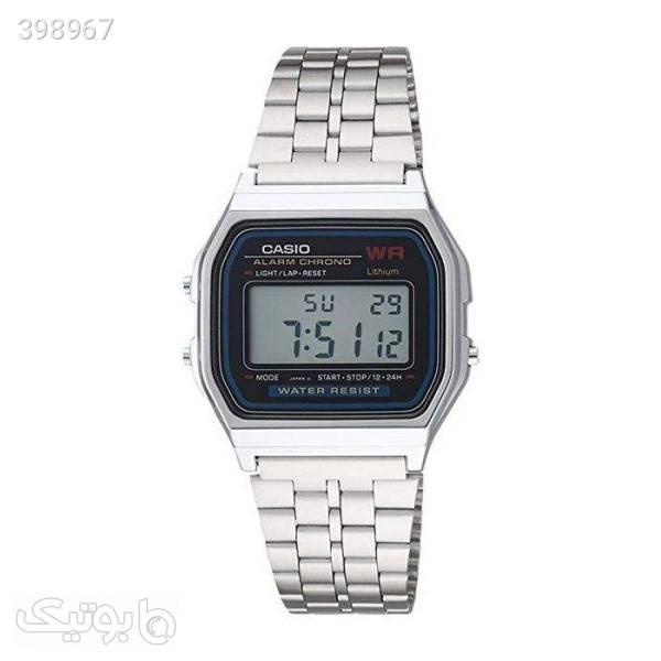 ساعت مچی دیجیتال مدل A159WA -NO-ME نقره ای ساعت