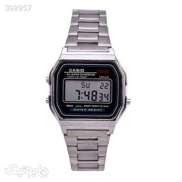 ساعت مچی دیجیتال مدل P5 نقره ای ساعت