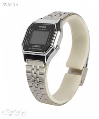 ساعت مچی زنانه کاسیو Casio مدل LA680WA-1BDF نقره ای ساعت