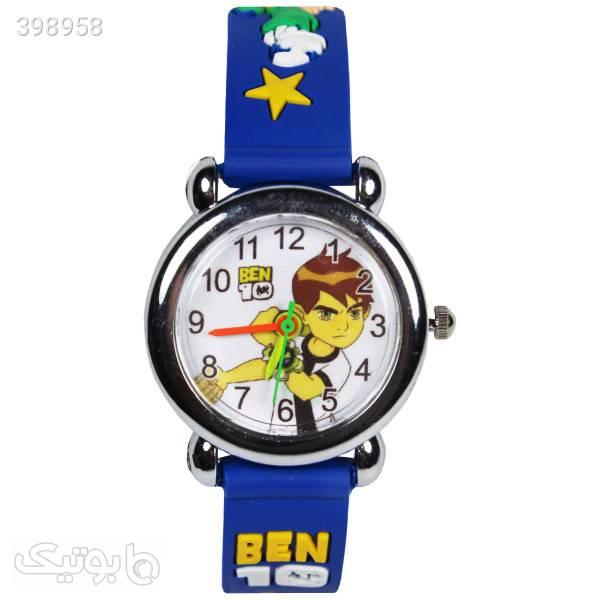 ساعت مچی عقربه ای بچه گانه مدل K09 آبی ساعت