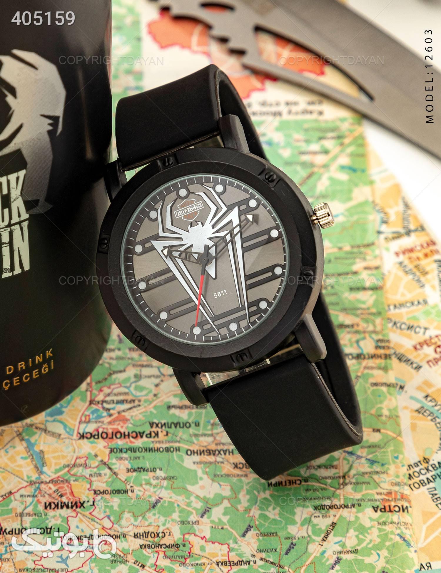 ساعت مچی مردانه Araz مدل  12603 مشکی ساعت