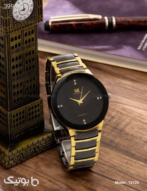 ساعت مچی مردانه IIk Collection مدل 12125 زرد ساعت