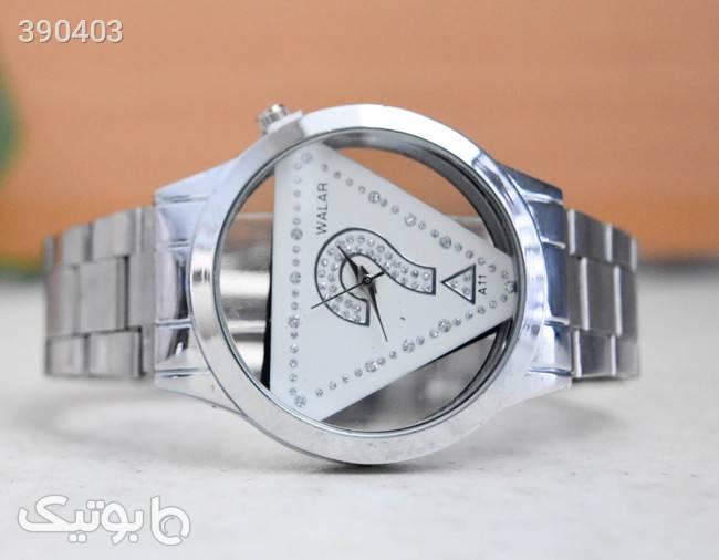 ساعت مچی نقره ای walar مدل A11 نقره ای ساعت