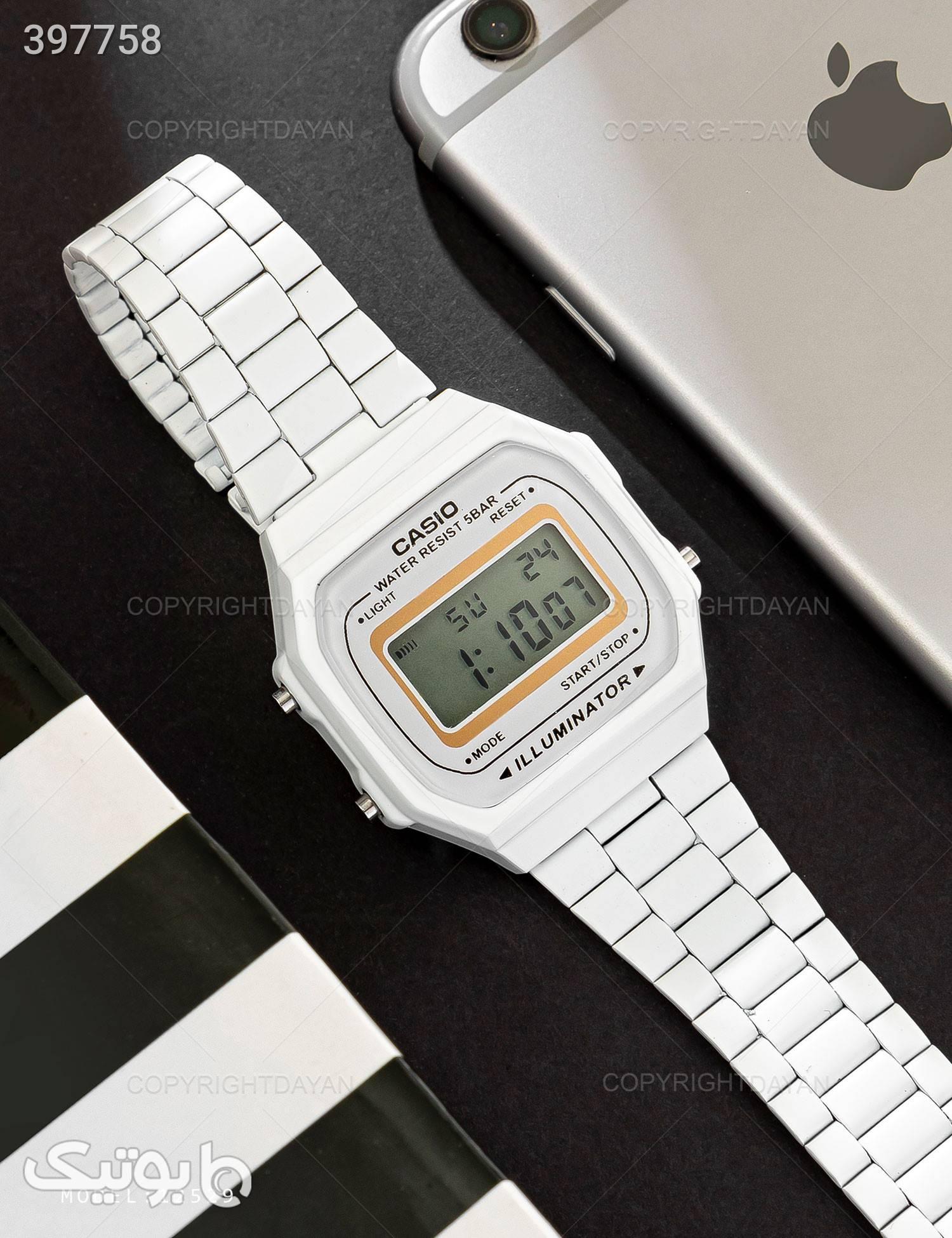 ساعت مچی Casio مدل 12529 سفید ساعت