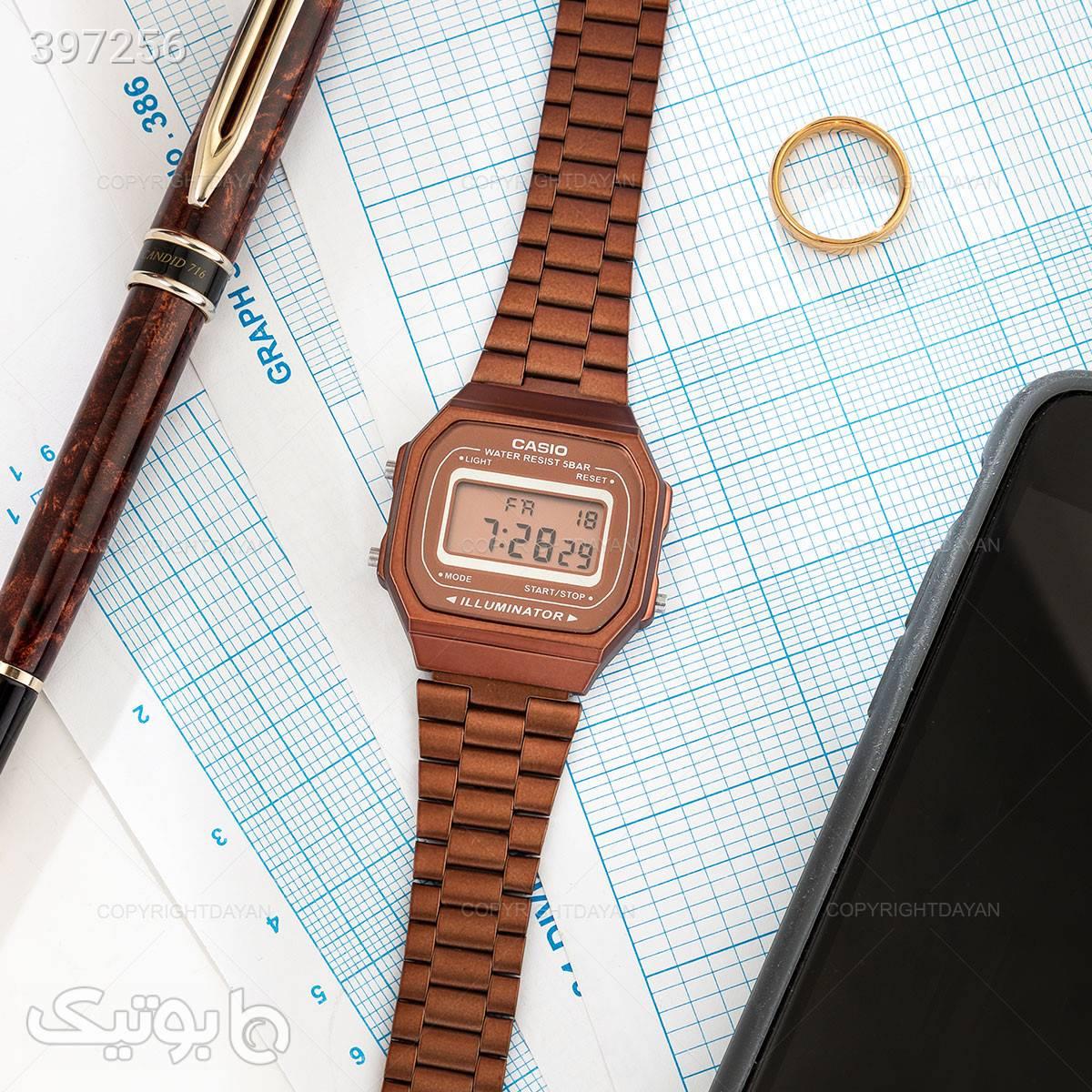 ساعت مچی Casio مدل 12530 نارنجی ساعت