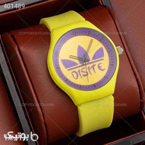 ساعت مچی Disite مدل W9240 زرد ساعت