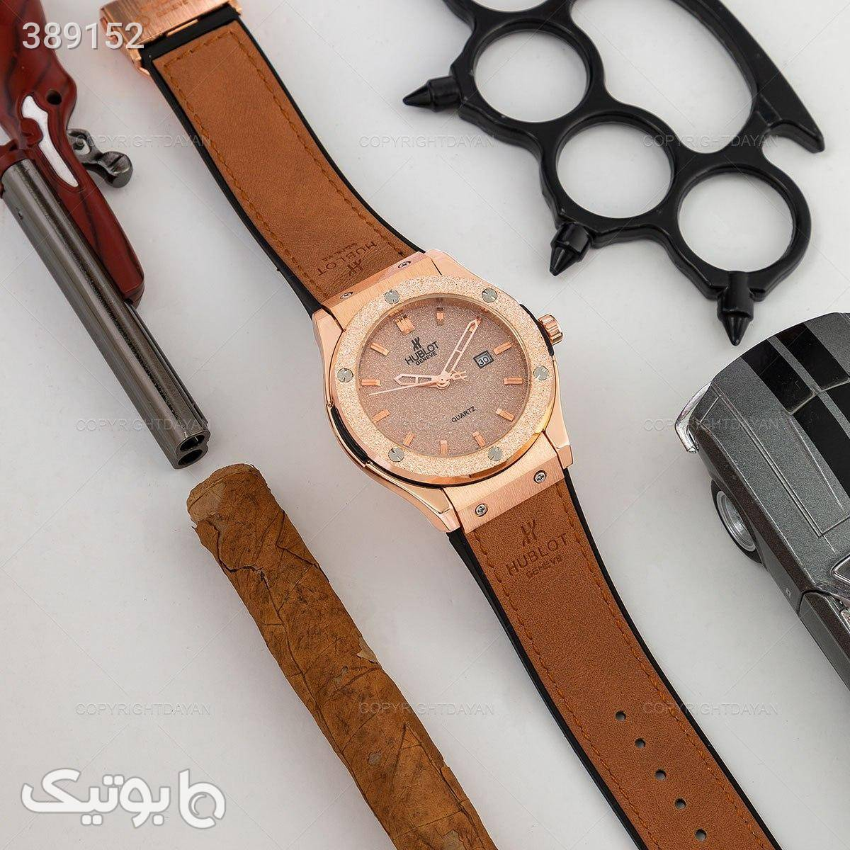 ساعت مچی Hublot مدل 12310 قهوه ای ساعت
